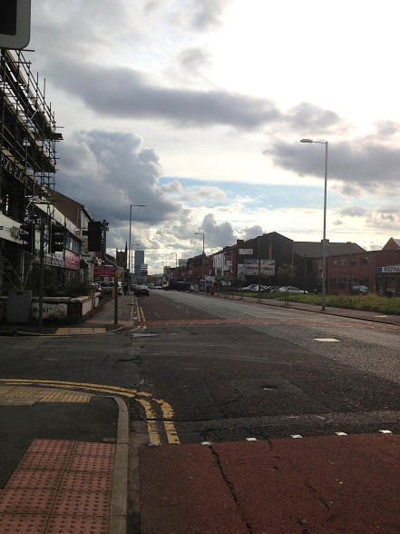 Cheetham Hill Road. Image by Abi Gilmore.